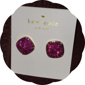 Kate Spade Fuchsia Earrings 💞